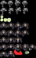 Spaceship Game - Sprites by 7Soul1