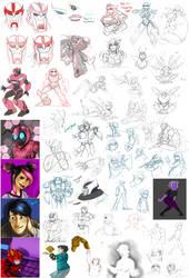 Sketchdumpfun5 by AXEL464