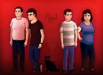 Family portrait by Wofk