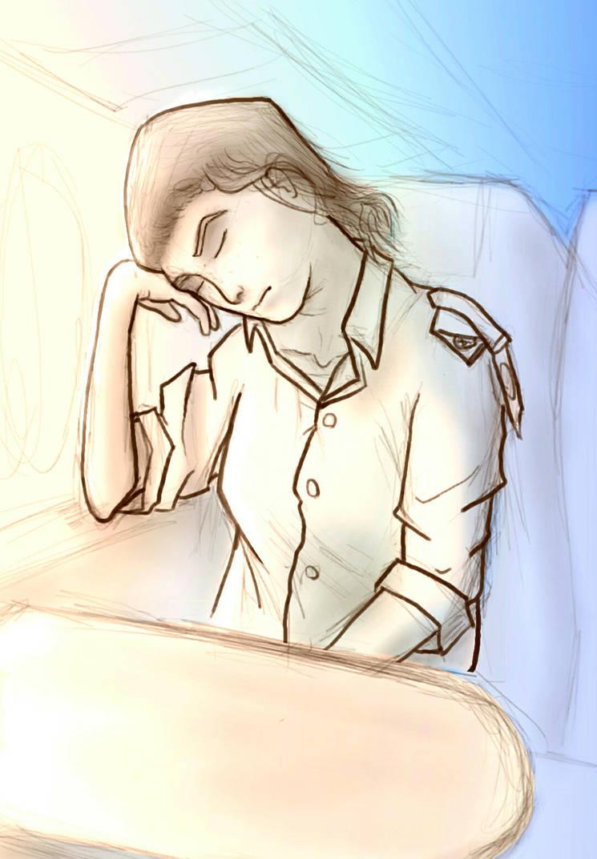 Sleeping by Wofk