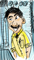 cartoon test 01 by oraet