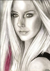 Avril_Lavigne by Hilly16