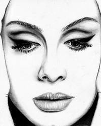 Adele's portrait by Hilly16