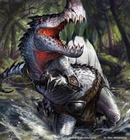 Snaptooth Crawmangler by AlexAlexandrov