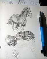 Pencil Study by AlexAlexandrov