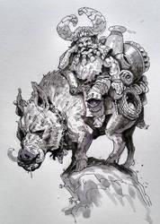 Ink 1 by AlexAlexandrov