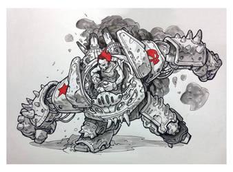Ink 4 by AlexAlexandrov