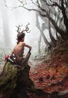 Forest Spirit by AlexAlexandrov