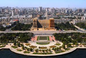 Baku: City Of Winds by Xtreminal