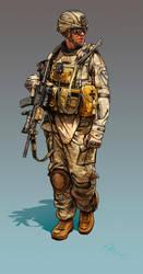 Concept character body XIII by DimitarKatsarov
