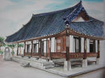 Hanok- Korean Traditional House by lolbenjo