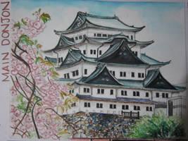 Nagoya Castle by lolbenjo