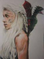 Khaleesi by lolbenjo