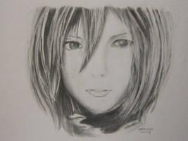 Mikasa by lolbenjo