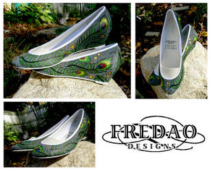 Feather Dreams Shoes by ChiffonSigh