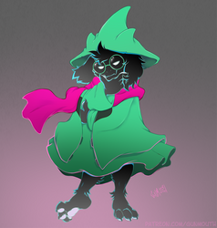 Prince Ralsei Marvelous He by gunmouth