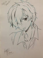 Free! Nagisa Hazuki Magic Night Fanart~ by EleganceOfArt