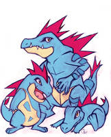 GO TOTODILE by Wolf-Spirit14