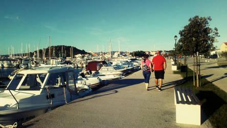 Murter island, Murter city, Croatia by carrolsmith