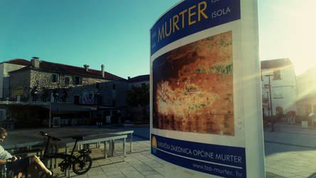 Murter city,island Murter, Croatia by carrolsmith