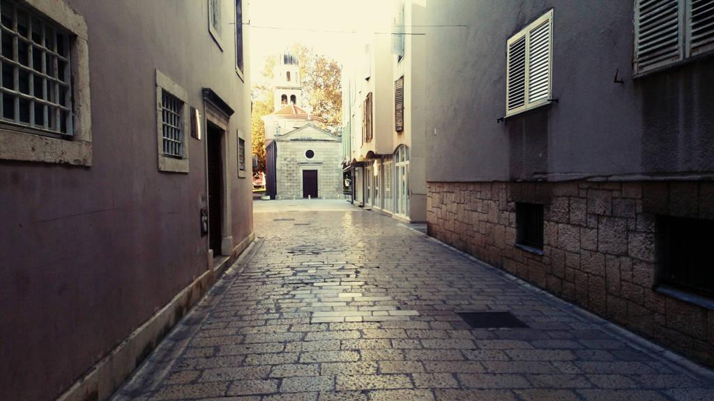 winter feeling in Zadar city by carrolsmith