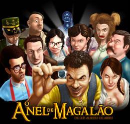 O Anel de Magalao by marcio-orochi