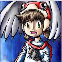 Oekaki of Yuri from Alien 9 by m3ru