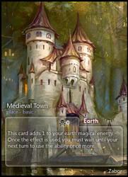 Medieval Town: SnowSkadi by CardsOfWars