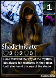 Shadow Worshipper:suicide-blue by CardsOfWars