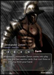 Commander Zeron: WindWak3r by CardsOfWars