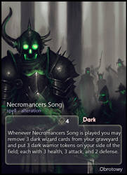 Necromancers Song: Obrotowy by CardsOfWars