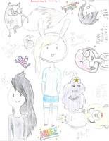 Adventure Time Sketch Dump by gerardway710