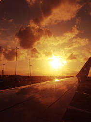 Leaving on a jet plane by veerleee
