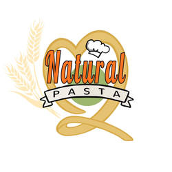 Logo for Natural Pasta (FULL) by optimismeBoo