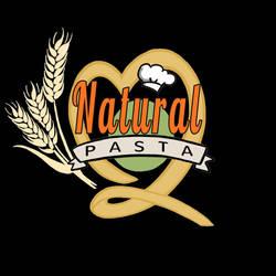 Natural Pasta Logo (Full) [black bg] by optimismeBoo
