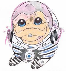 Mass Effect 2 - Grunt by Lilaaku