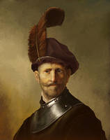 Rembrandt Study by yohan-haash