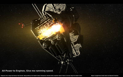 Give me Ramming Speed by starfleet