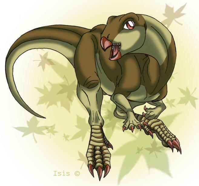 Hypsilophodon by IsisMasshiro