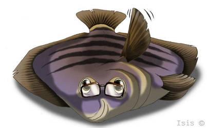 Flat fishy by IsisMasshiro
