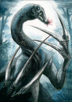Therizinosaurus by IsisMasshiro