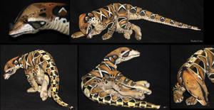 Mini snakey - plushie by IsisMasshiro
