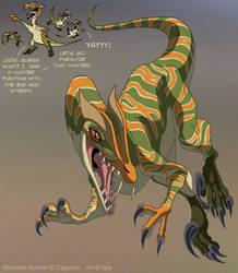 Monster Hunter - Genprey by IsisMasshiro
