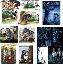 L4D - Zombies vs plants by IsisMasshiro