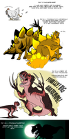 Dinosaur challenge 2 by IsisMasshiro