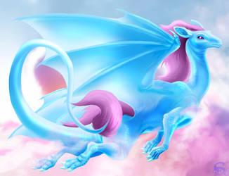 Daydream dragon by IsisMasshiro