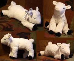 Lamb-plushie FOR SALE by IsisMasshiro