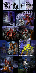 L4D - At Freddy's by IsisMasshiro