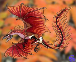 Rowan dragon by IsisMasshiro