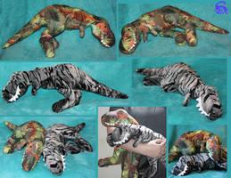 Tyrannosaurus-plushies SOLD by IsisMasshiro